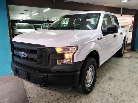 Ford F 150 2016 4p F-150 Xl Crew Cab 4x4 5.0l V8