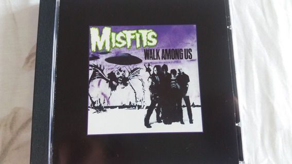 Cd Misfits - Walk Among Us (1982) Glenn Danzig Samhain
