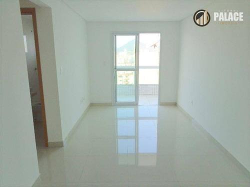 Imagem 1 de 30 de Apartamento Com 2 Dormitórios À Venda, 80 M² Por R$ 450.000,00 - Vila Guilhermina - Praia Grande/sp - Ap2496