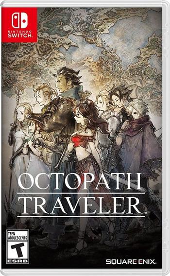 Melhor Preço! Jogo Octopath Traveler Nintendo Switch