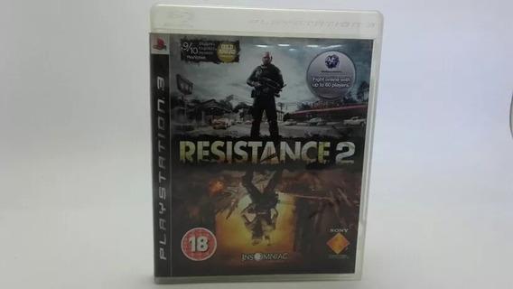 Jogo Ps3 Resistance 2 Original Completo Fisica Promoção