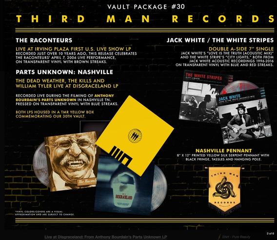 Jack White Third Man Records Vault #30 Raconteurs Lp Box