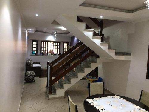 Sobrado Com 3 Dorms, Vila Augusta, Guarulhos - R$ 640 Mil, Cod: 3008 - V3008