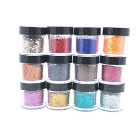 Glitter Flocado Para Decoração De Unhas Encapsuladas