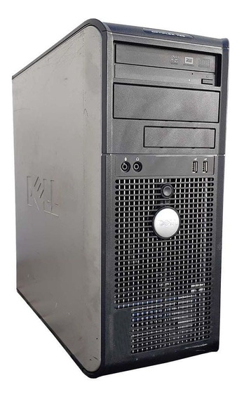 Pc Cpu Dell Optiplex Torre Dual Core 8gb Hd 80gb Wifi