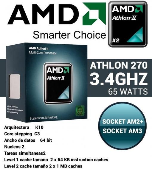 Athlon Ii 2 64 X2 270 3.4ghz Socket Am3