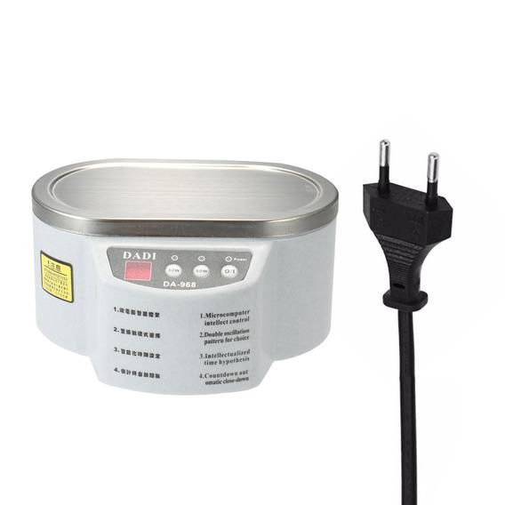 Jóias Ultrasonic Limpador Digital Agregado Familiar Mini Ta