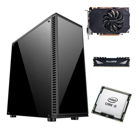 Cpu Gamer Intel I5 2500 3,3ghz Gtx960 Ram 8gb Ssd 240gb 500w