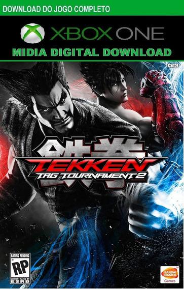 Tekken Tag Tournament 2 Compativel Xbox 0ne Midia Digital