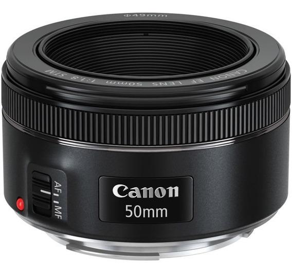 Lente Canon 50mm F1.8 Stm Af Silencioso - Temos Loja