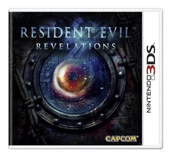 Resident Evil Revelations - 3ds Importado Mídia Física