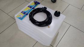 Tanque De 50 Litros Completo/pescador/bulbo/mangueira/conect