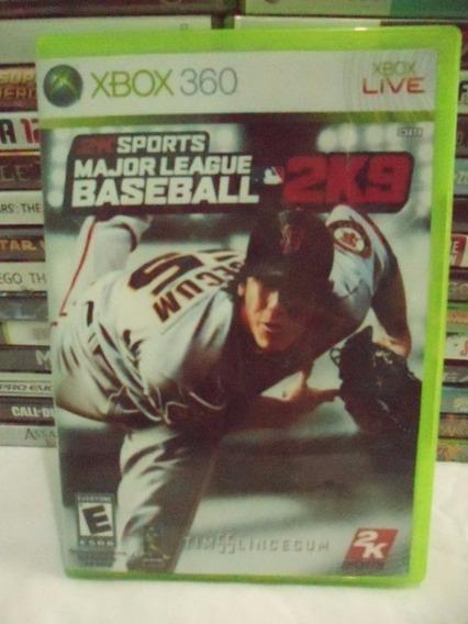 2k Sports Major League Baseball 2k9 Xbox 360 Midia Fisica