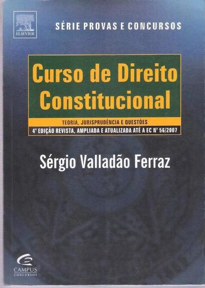Direito Constitucional - 4ª Edição - Sérgio Valadão