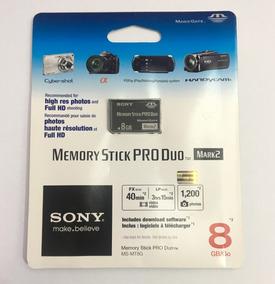 Cartão De Memória Stick 8gb Pro Duo Sony