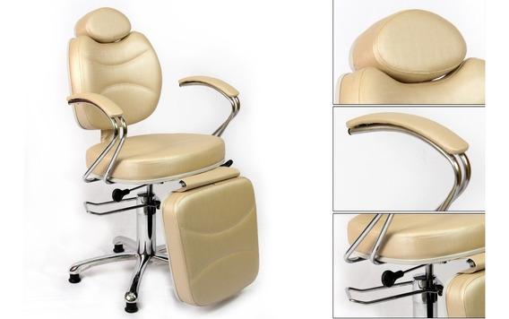 Cadeira Reclinável Poltrona Pigmentação Maquiagem + Lombar
