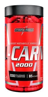 L-carnitina 2000 Queimador Gordura 120caps - Integral