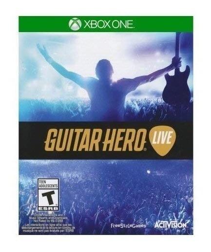 Guitar Hero Live - Somente Jogo Mídia Fisica - Xbox One