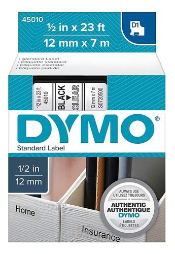 45010 | Cinta Dymo Transparente 12mmx7m | Incluye Envío