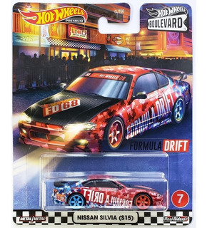 Hot Wheels Boulevard Nissan Silvia S15 Gjt75 - Mattel