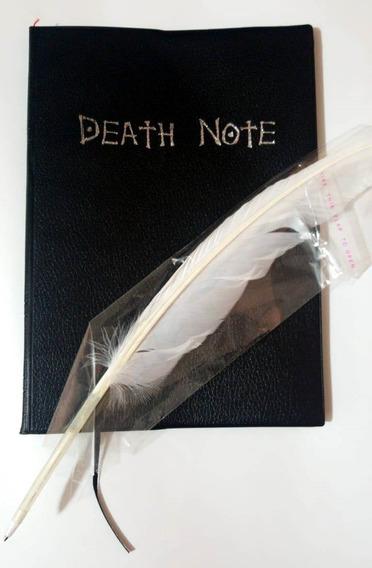 Death Note Con Pluma Y Reglas Japones E Ingles