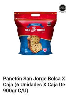 Panetón San Jorge En Bolsa X 900 Gr. Caja De 6 Unid S./ 86