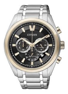 Reloj Citizen Eco Drive Super Titanium Zafiro Crono Ca4014