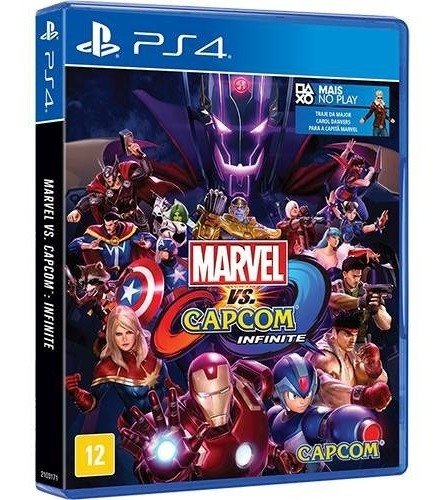 Ps4 Marvel Vs Capcom Infinite Mídia Física Lacrado - Legendas Em Português