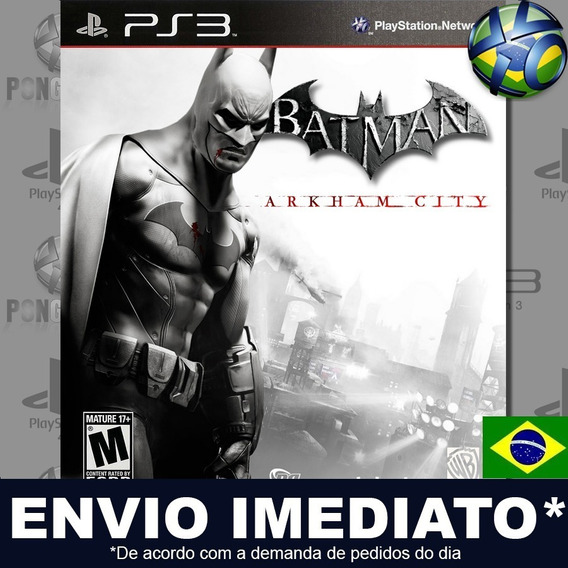 Batman Arkham City Ps3 Psn Legendado Português Pt Br Play 3