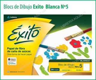 Blocs De Dibujo Nº5 Exito Hojas Blancas Tipo El Nene