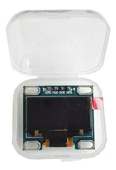 Display Oled Lcd Arduino Led 0.96 128x64 I2c Branco