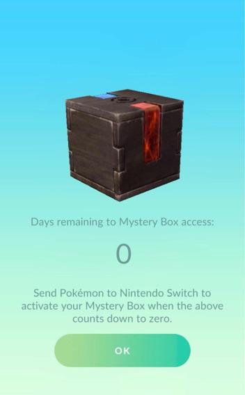 Caixa Meltan- Pokémon Go