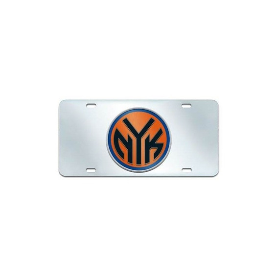 Fanmats Nba New York Knicks Placa De Plástico (con Incrustac