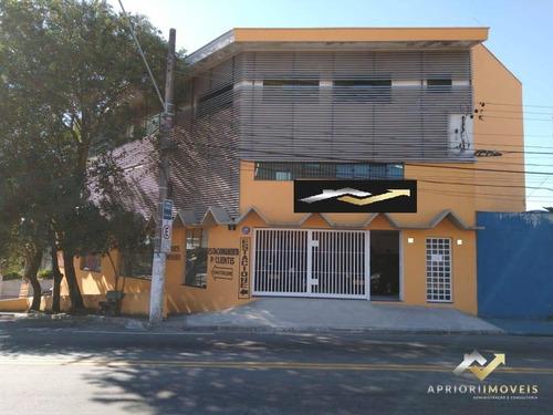 Prédio Para Venda E Locação, 750  - Parque Das Nações - Santo André/sp - Pr0008