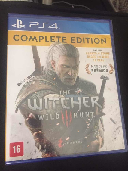 Jogo The Witcher 3 Wild Hunt Complete Edition Playstation 4