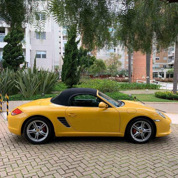 Porsche Boxter 2.9 Mecânico 2010 Amarelo 25.000km