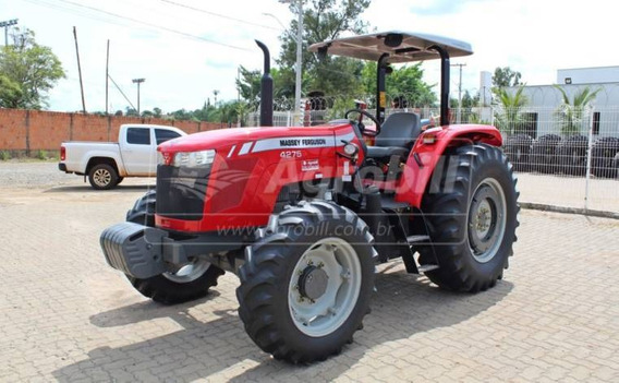 Trator Massey 4275 4×4 Ano 2015 Com 1551 Horas (revisado)
