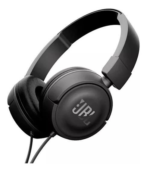 Fone De Ouvido Jbl T450 Preto On Ear Headphone Original