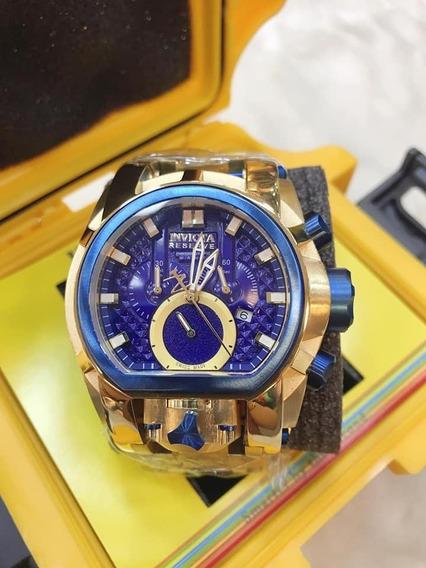 Relógio Magnata De Luxo Á Prova D