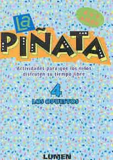 Piñata 4-los Opuestos (4/5 Años)