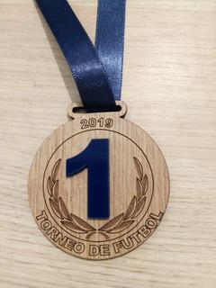 Medallas Trofeos Campeonatos Deportes Mdf