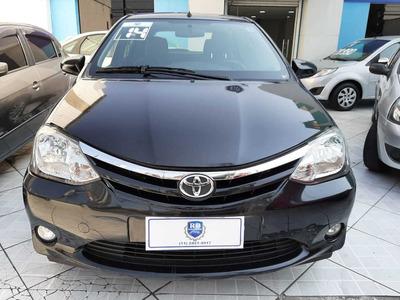 Toyota Etios Hatch 1.5 Xls Completo 2014 Preto