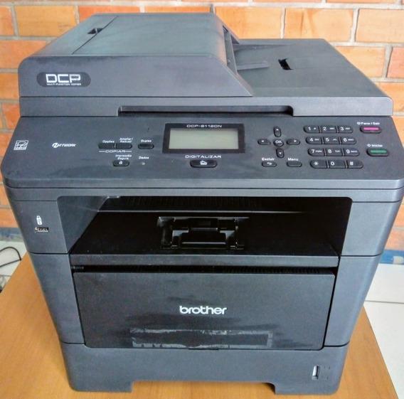 Impressora Brother Multi Laser Dcp-8112dn, Com Fusão