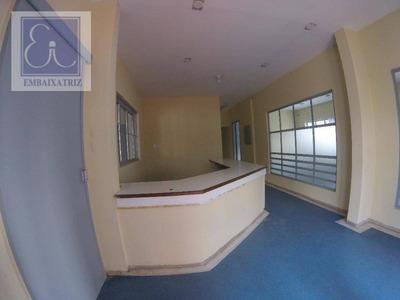 Ótima Casa No Centro Com 10 Salas E Estacionamento - Ca0047