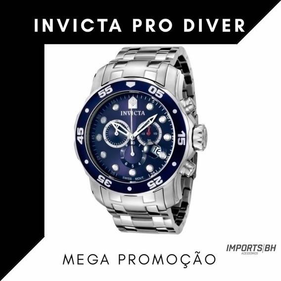 Pro Diver Cronógrafo Azul Dial Men Watch