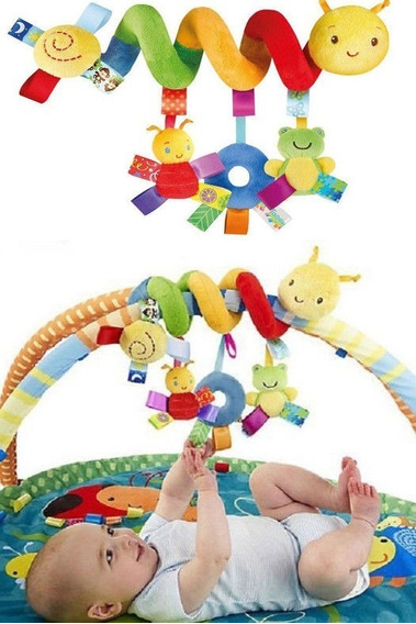 Móbile Espiral Divertido Para Carrinho De Bebê Centopeia