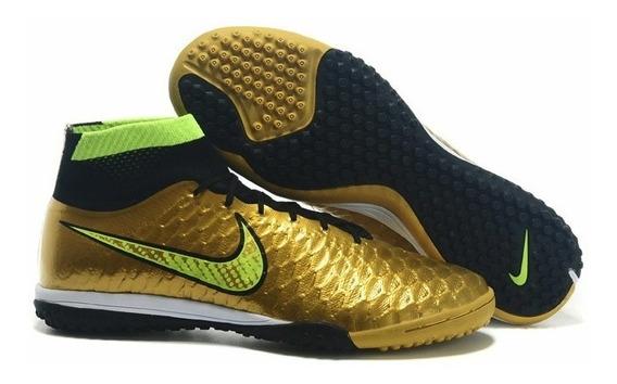 Chuteira Nike Magista Society Botinha Cano Longo 2016