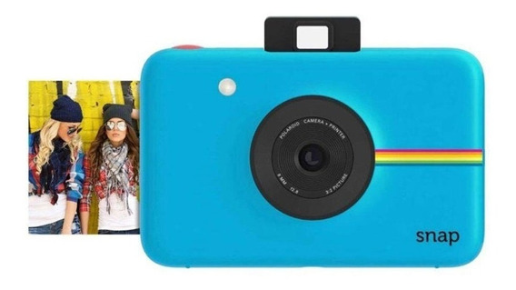 Câmera Digital Instantânea Polaroid Snap Azul