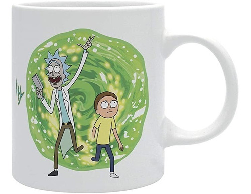 Taza Portal Rick And Morty
