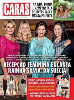 Revista Caras 1223/17 -silvio Santos/angélica/petraglia
